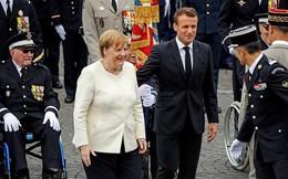 Thủ tướng Merkel đập tan lo ngại về sức khỏe với bài 'kiểm tra thể lực' ở Pháp