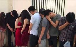 Hàng chục dân chơi 'mở tiệc' ma túy trong quán bar ở TP.HCM