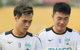 Xuân Trường, Văn Toàn quấn nhau như sam trong buổi tập trước thềm cuộc đọ sức với Hà Nội FC tại V.League