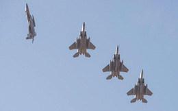 Không quân Mỹ triển khai nhiều máy bay tiêm kích tới châu Âu