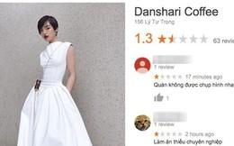 Quán cafe phàn nàn sau lưng, dựng chuyện Khánh Linh thay đồ để chụp ảnh bị dân mạng đánh giá 1 sao, kêu gọi tẩy chay