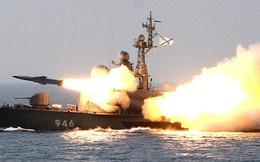 Hai tàu chiến Nga ồ ạt phóng tên lửa tiêu diệt mục tiêu trên biển Nhật Bản