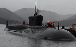Tàu ngầm hạt nhân lớn nhất tham gia tập trận cùng Hạm đội phương Bắc