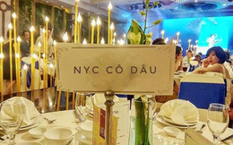 Bức ảnh gây xôn xao MXH: Không phải cô dâu chú rể, đây mới là chi tiết gây chú ý nhất đám cưới