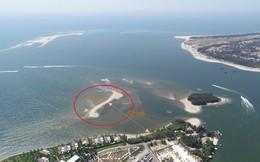 Quảng Nam: Xuất hiện thêm một cồn cát trên vùng biển Cửa Đại