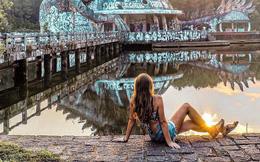 Vẻ đẹp ma mị và huyền bí của công viên nước bỏ hoang ở Huế qua góc nhìn đầy độc đáo của travel blogger thế giới