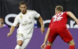 Bayern Munich 3-1 Real Madrid: Ngày ra mắt kém may của Eden Hazard