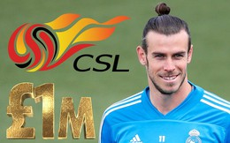 Gareth Bale chạy sang Trung Quốc nhận lương cao nhất lịch sử