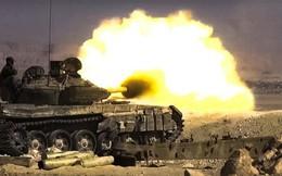 """Phiến quân Syria phóng """"tên lửa lạ"""" phá tan xe tăng quân chính phủ ở Hama"""