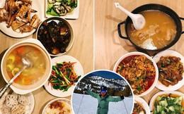 Chàng thạc sĩ Việt sống ở Mỹ khoe mâm cơm tự nấu toàn món ngon đậm đà, các cô gái ầm ầm xin 'apply' làm vợ