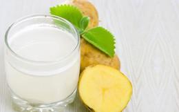 Lợi ích sức khỏe của nước ép khoai tây tươi