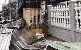 Hàng trăm căn nhà bị sập và tốc mái trong cơn mưa giông lớn tại An Giang