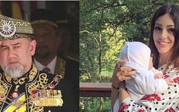 Cựu vương Malaysia tuyên bố bé trai 2 tháng tuổi không phải là con đẻ của mình và loại bỏ hoàn toàn người đẹp Nga ra khỏi cuộc sống