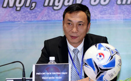 Phó Chủ tịch VFF Trần Quốc Tuấn: Đổi lịch V-League, chuẩn bị tốt nhất cho tuyển Việt Nam đá vòng loại World Cup