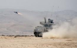 [ẢNH] Israel huy động xe tăng phóng tên lửa siêu đặc biệt tấn công Syria