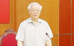 Tổng Bí thư, Chủ tịch nước chủ trì họp Ban Chỉ đạo phòng, chống tham nhũng