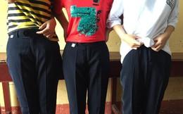 Chê khéo đồng phục trường, học sinh đua nhau share những chiếc quần ống loe thập niên 80 nhìn mà ngao ngán