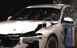 Choáng với màn thử nghiệm va chạm xe VinFast Lux tại châu Âu