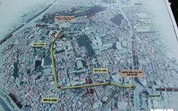Ảnh: Con đường quan trọng trung tâm Thủ đô rục rịch thi công sau 15 năm 'đắp chiếu'