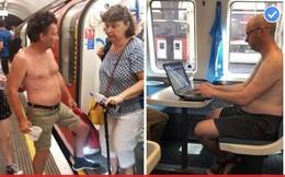 Người dân Anh chống nắng nóng kỷ lục bằng cách… cởi bớt đồ