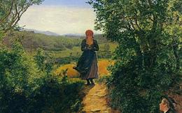 Sự thật về bức tranh cô gái nhìn vào điện thoại vào năm 1850 gây xôn xao: Có hay không giả thiết xuyên không?