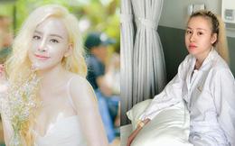 Bà Tưng Huyền Anh xuất hiện với mái tóc vàng hoe, tiết lộ số lần sửa mũi trong 6 năm khiến dân mạng giật mình