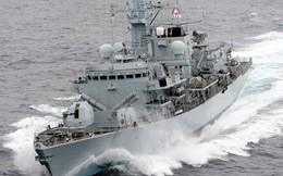Hạm đội teo tóp, Anh chỉ điều một tàu chiến ra Vùng Vịnh