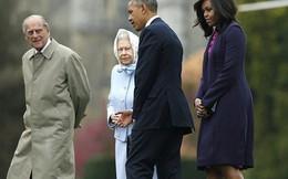 Bà Michelle Obama gây bão vì phát biểu 'động chạm' Nữ hoàng Anh