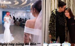 Ái nữ sinh năm 1999 đăng ảnh diện váy cưới, lẽ nào đại gia Minh Nhựa sắp lên chức bố vợ ở tuổi 36!
