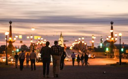 Chiêm ngưỡng 'đêm trắng' độc đáo ở nước Nga