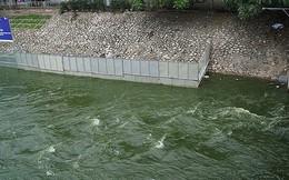 Nước Hồ Tây lại được xả vào sông Tô Lịch