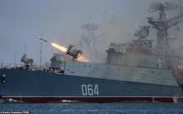 Chùm ảnh Hải quân Nga kiêu hãnh phô trương sức mạnh khiến nhiều đối thủ kiêng nể