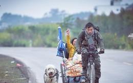 Xe lăn, xe đạp và một chú chó: Hành trình tình yêu gây sốt MXH từ hai con người phi thường