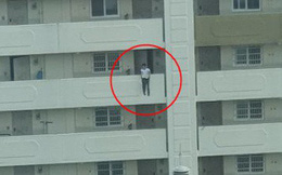 Bức ảnh chụp khoảnh khắc nam thanh niên nhảy lầu tự tử khiến dân mạng Hàn Quốc đứng tim nhưng sự thật hóa ra rất bất ngờ