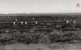 Quân đội Nga tung video hủy diệt phiến quân ở Syria