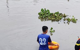 """Tung lực lượng tìm thanh niên nghi """"ngáo đá"""" nhảy xuống sông mất tích"""