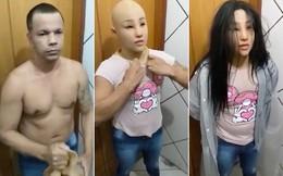 Trùm băng đảng Brazil dùng mặt nạ silicon, giả con gái ruột để trốn tù