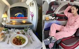 Muốn biết hạng thương gia sang chảnh hơn ghế thường ra sao, cứ nhìn bữa ăn của 19 hãng bay nổi tiếng này sẽ rõ!