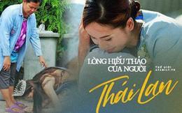 Khi Hoa hậu đội vương miện quỳ lạy cha mẹ: Lòng hiếu thảo của một người con và nét đẹp văn hóa tại đất nước Thái Lan