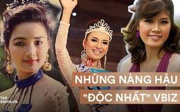 """Những nàng hậu kỳ lạ, """"độc nhất vô nhị"""" trong 70 năm lịch sử các kỳ nhan sắc Việt"""