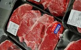 Lô thịt heo Mỹ 'khổng lồ' giá 26.000 đồng/kg