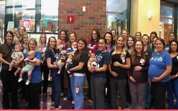Kỷ lục chưa từng thấy trên thế giới: 36 nữ y tá của một bệnh viện cùng mang thai và sinh con trong vòng 1 năm