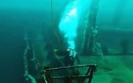 Canada trục vớt đạn pháo từ xác tàu chìm trong Thế chiến 2