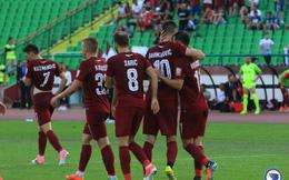 Đội bóng của ông chủ người Việt thua sát nút ở Europa League