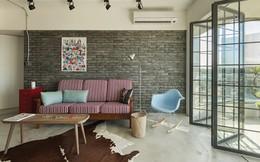 Căn hộ sở hữu nội thất phong cách công nghiệp đáng mơ ước