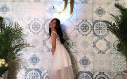 Giữa nghi án chia tay Quang Hải, Nhật Lê bất ngờ mặc váy như cô dâu và hỏi một câu rất lạ