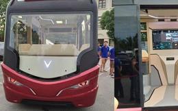 Xuất hiện hình ảnh được cho là chiếc xe buýt của VinFast với thiết kế 'đến từ tương lai'