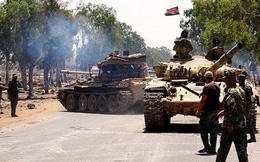Phiến quân thất bại nặng nề dưới hỏa lực của quân chính phủ Syria tại bắc Hama