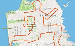 Kinh ngạc thanh niên dành cả thanh xuân để chạy vẽ hình lên ứng dụng bản đồ, kỷ lục 6 tiếng 'ngốn' liền 46km