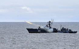 Máy bay, tàu chiến Nga rầm rộ tập trận tiêu diệt tàu ngầm địch trên biển